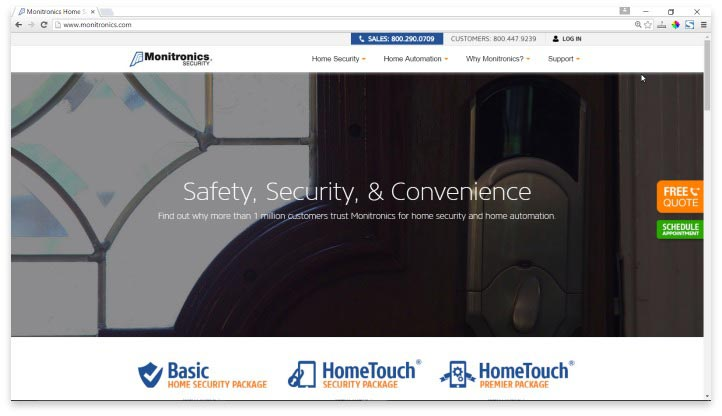 Monitronics Website