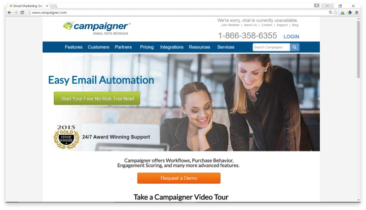 Campaigner Website
