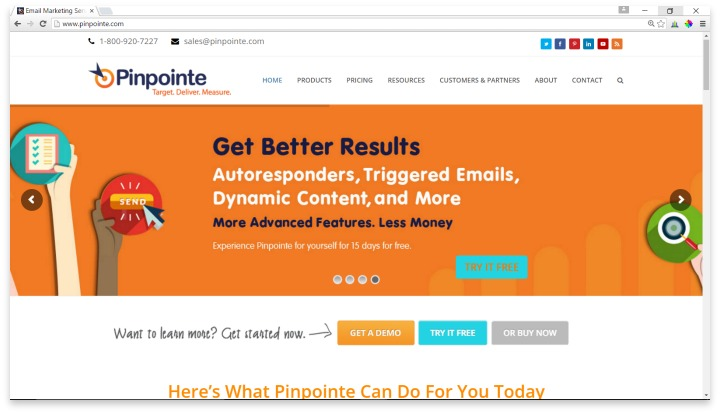 Pinpointe Website