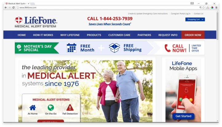 LifeFone Website