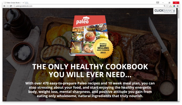 Paleo Grubs Website