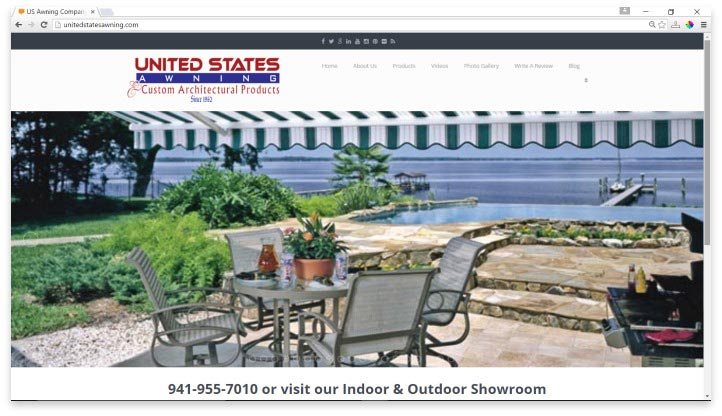United States Awning Website
