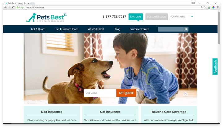 Pets Best Website