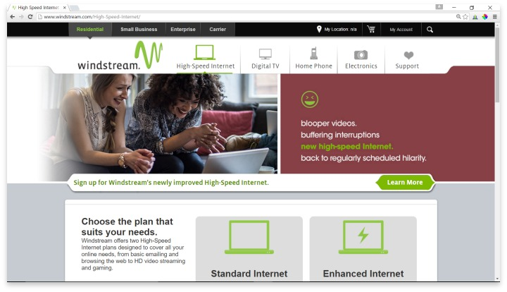 Windstream Website
