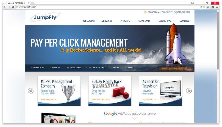 JumpFly Website
