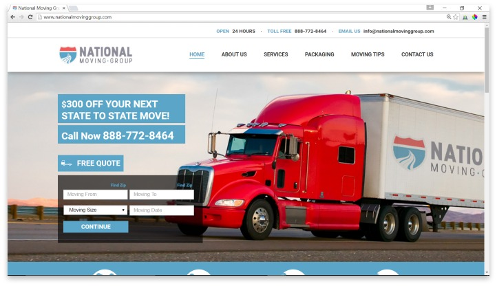 National Moving Group Website