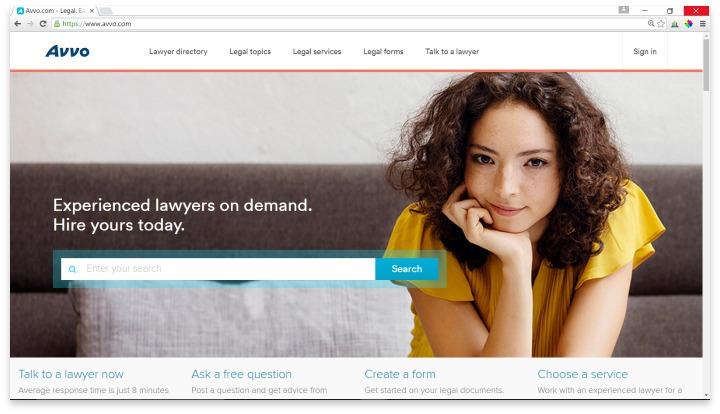 Avvo Website