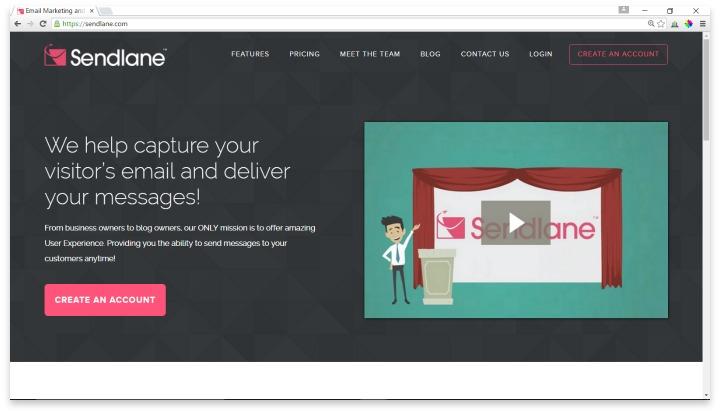 Sendlane Website