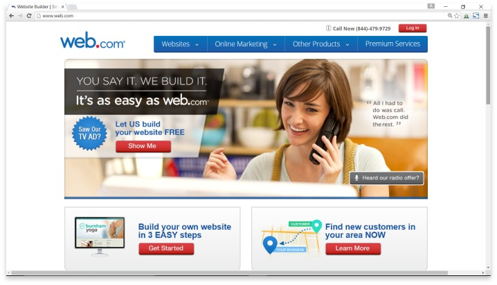 Web.com Website