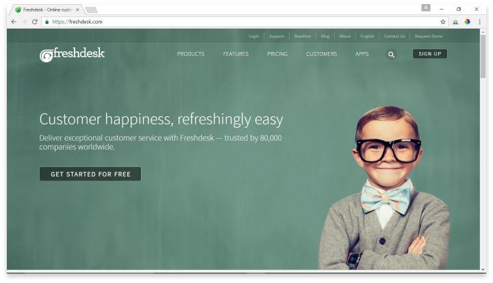 Freshdesk Website