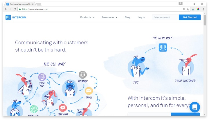 Intercom Website