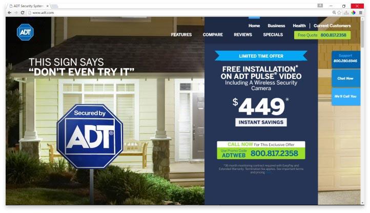 ADT Website