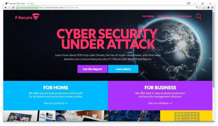 F-Secure Website