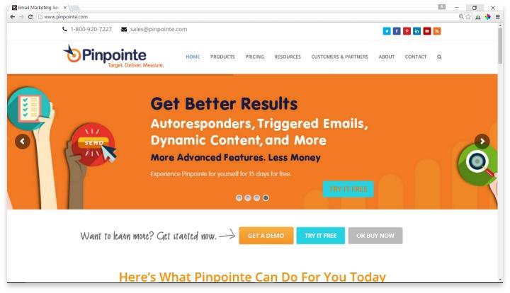 Pinpointe Website