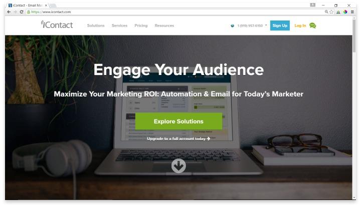 iContact Website