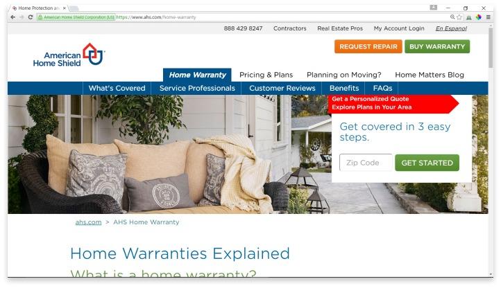 American Home Shield Reviews