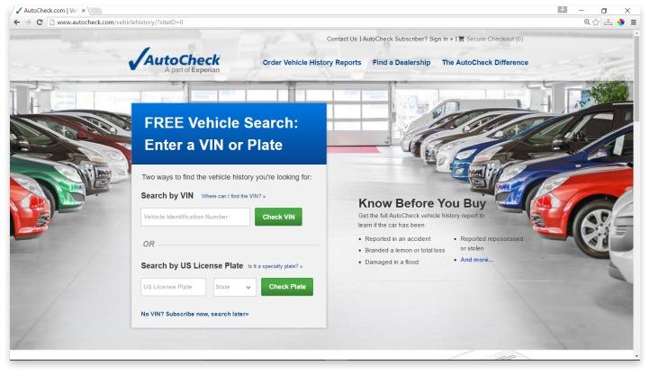 AutoCheck Website