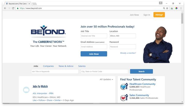 Beyond.com Website