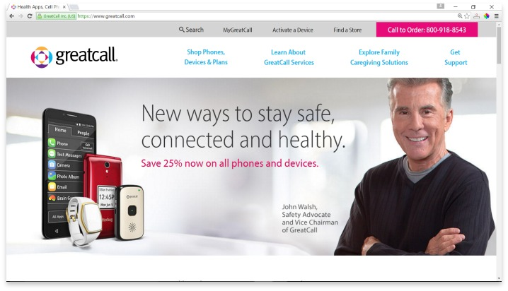 Greatcall Website