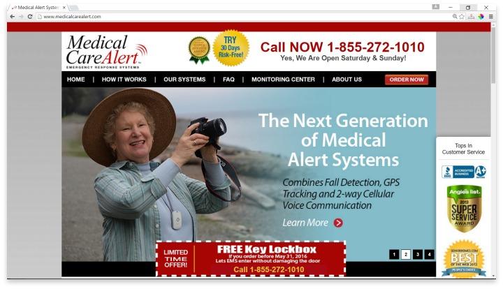 Medical Care Alert Website