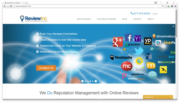 ReviewInc Website