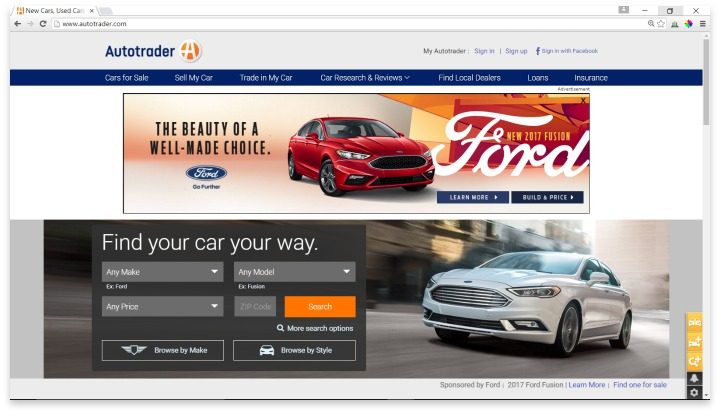 Autotrader Website